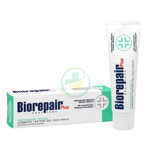 Biorepair Plus Protezione Totale Dentifricio 75 Ml