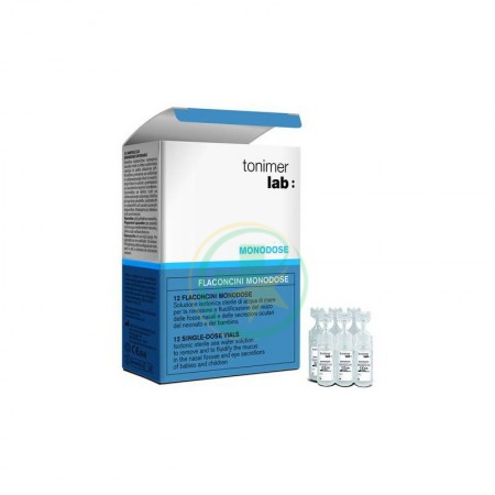 Tonimer Lab Normal Soluzione Isotonica Sterile 12 Fiale 5 ml