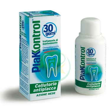 Plakkontrol Linea Igiene Dentale Quotidiana 30 Giorni Collutorio 0,12% 250 ml