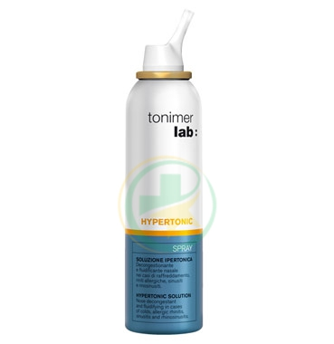 Tonimer Lab Hypertonic Soluzione Ipertonica Spray 125 ml
