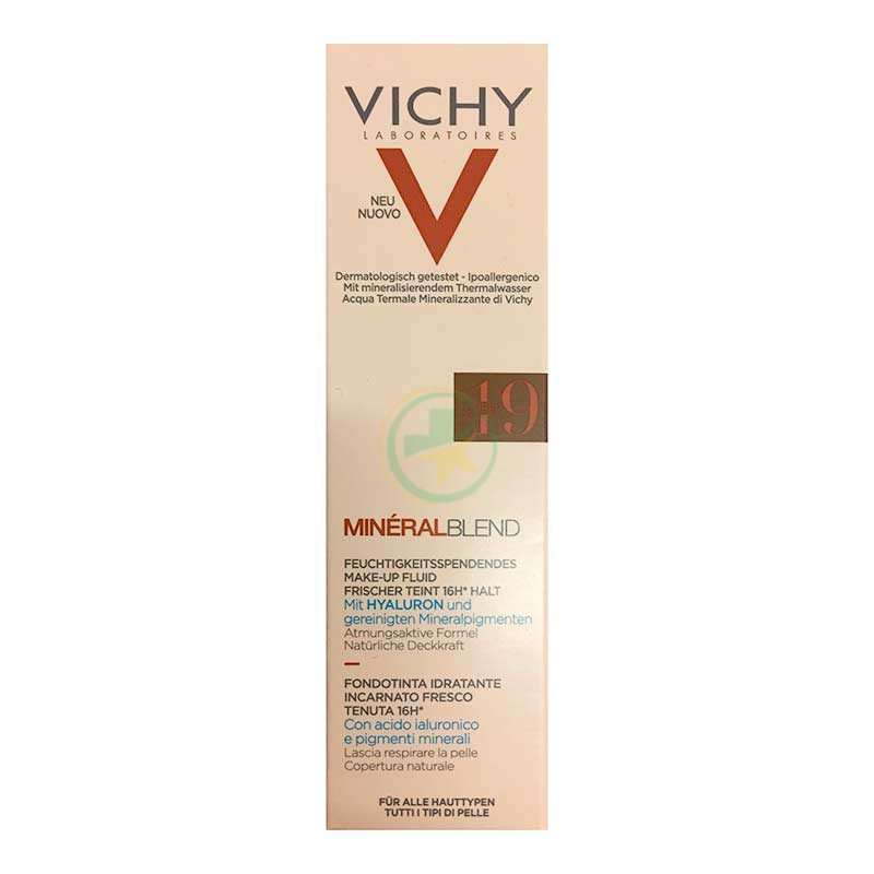 Vichy Make-up Linea Mineralblend Fondotinta Idratante Fluido 30 ml 11 Granite