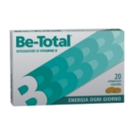 Be Total Integratore Alimentare di Vitamine B 20 Compresse Rivestite