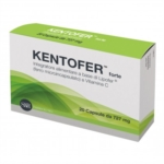 Kentofer Forte Integratore di Ferro e Vitamina C 20 Capsule 727 mg