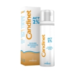 Candinet Act 2 Schiuma Detergente Attiva a Ph Acido 150 ml