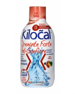 Kilocal Drenante Forte Anti-Gonfiore Depurativo Gusto Tropical 500 ml
