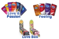 Durex Linea Classica Love Easy On Condoms Confezione con 12 Profilattici