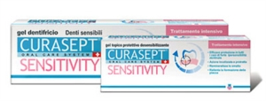 Curaden Curasept Sensitivity Intensive Denti Sensibili Gel Dentifricio 50 ml
