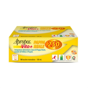 Apropos Vita+ Pappa Reale Integratore Alimentare 250mg 10 Bustine